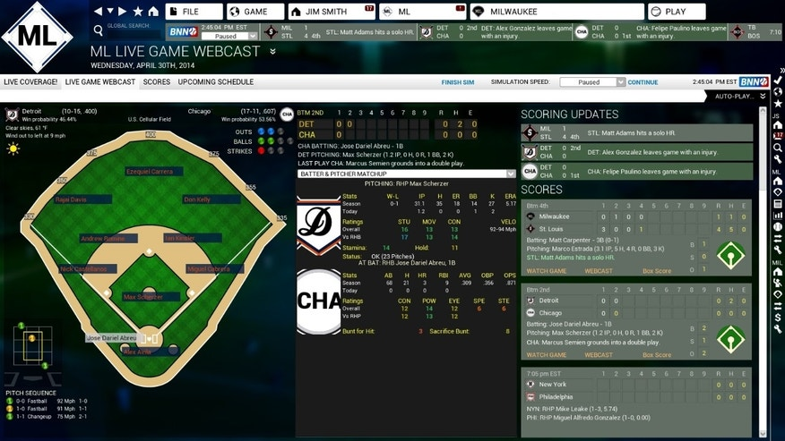 OOTP Developments