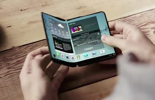 Foldable smartphones, tablets get closer to reality