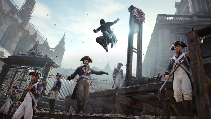 Assassin's Creed Unity.