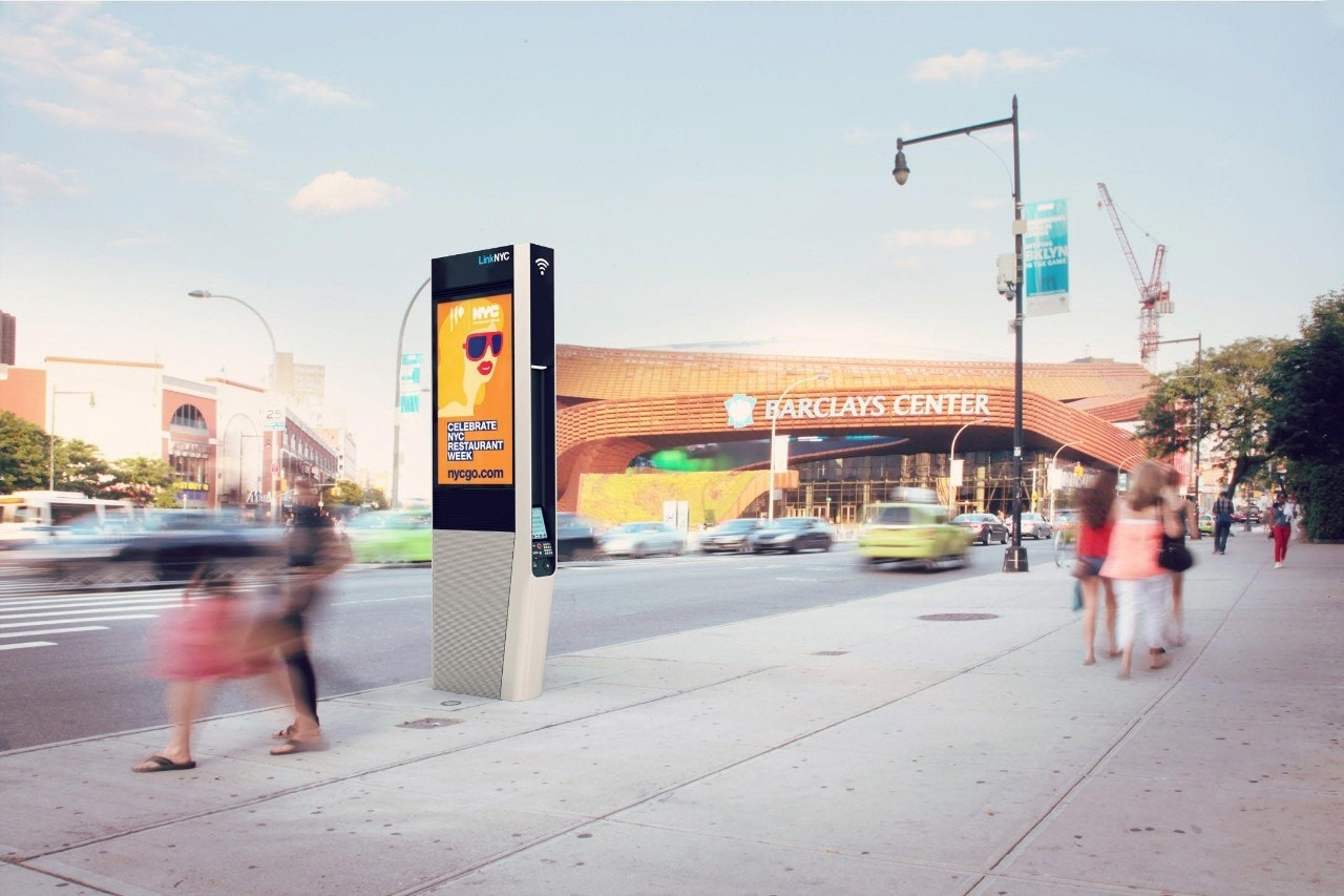 New York City's old payphone kiosks set to become gigabit Wi-Fi stations