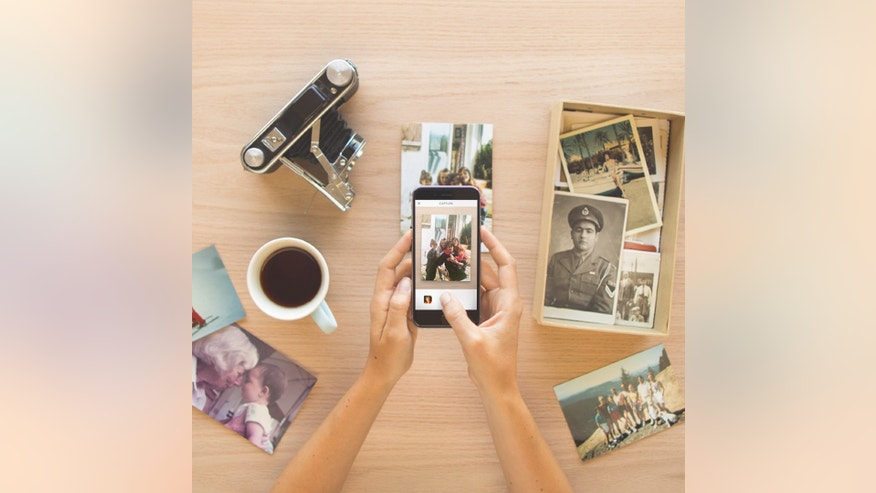 The Heirloom app lets you preserve old photos.