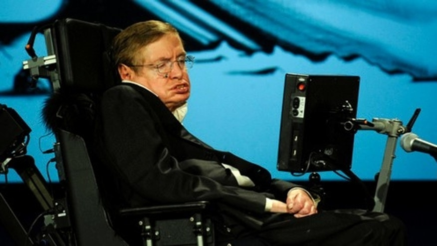 Stephen Hawking recently began using a speech synthesizer system that uses artificial intelligence to predict words he might use.