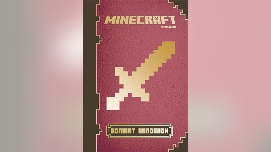 "This photo provided by Scholastic shows the cover of the book ""Minecraft: Combat Handbook."""