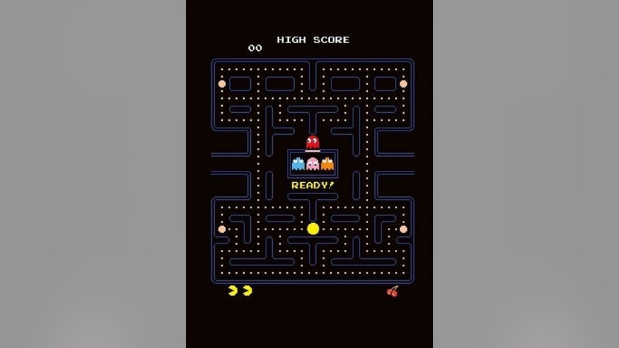 Included in the games: Pac-Man.