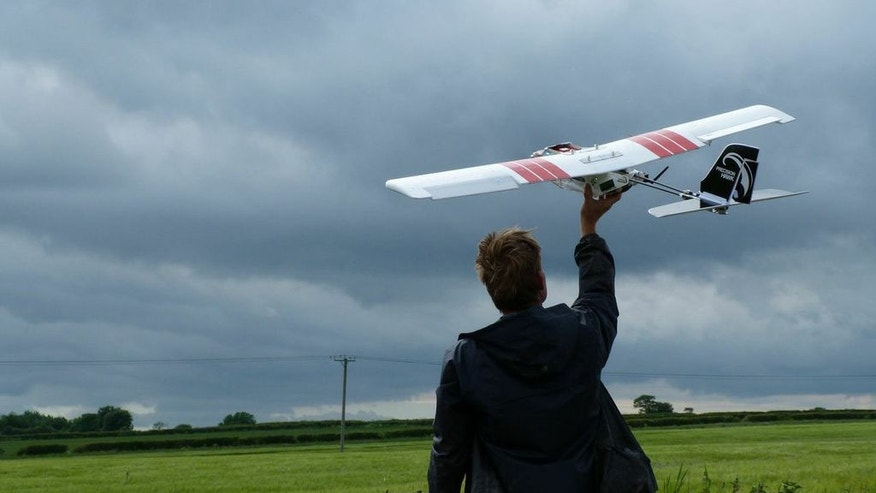 The PrecisionHawk surveillance drone