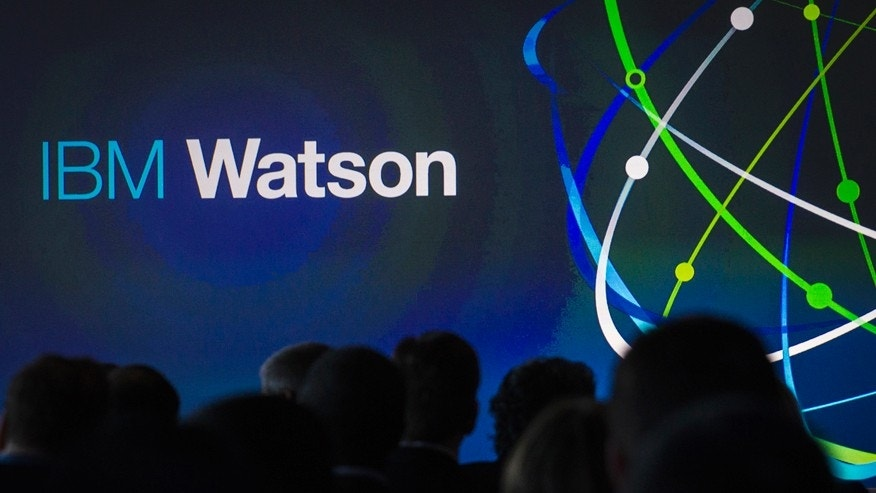 File photo. Attendees gather at an IBM Watson event in lower Manhattan, New York January 9, 2014.