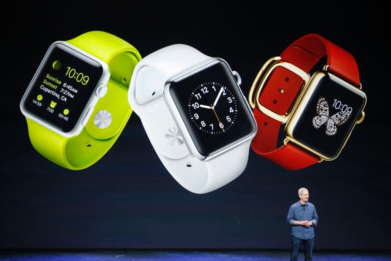 Oops, Apple Watch won't be in stores later this month