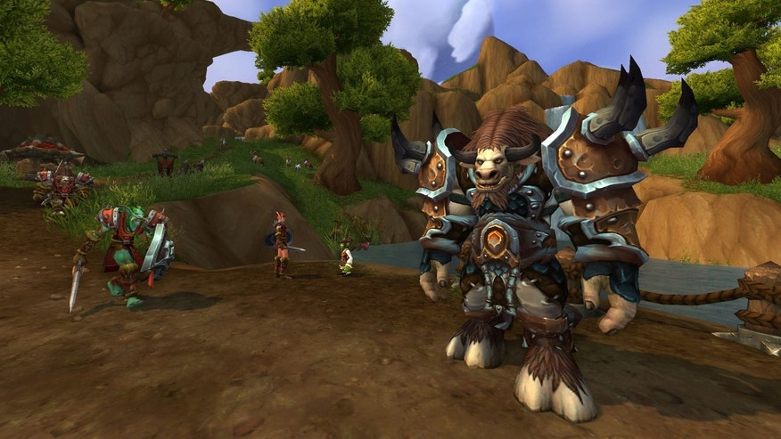 """World of Warcraft: Warlords of Draenor"" screenshot"