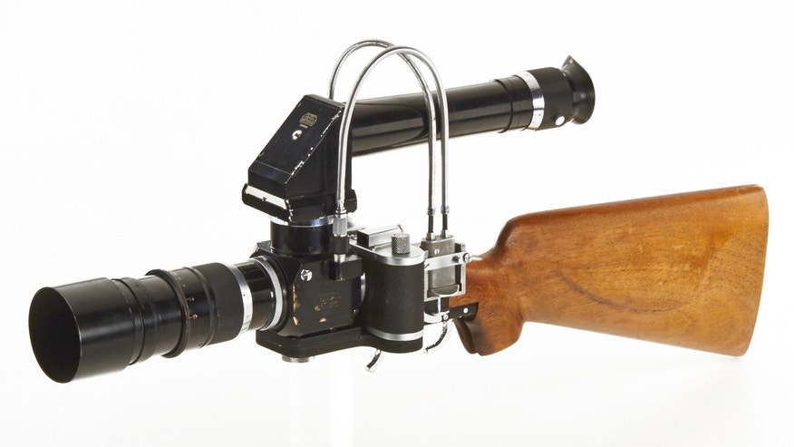 New York Leica Gun Rifle Prototype.