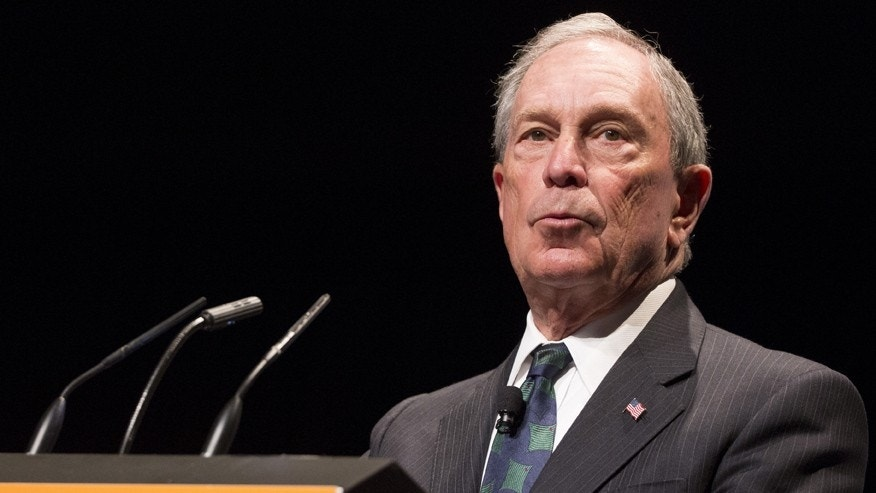 File photo - Michael Bloomberg speaks during the Sohn Investment Conference in New York May 4, 2015.