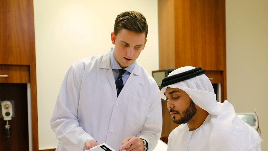 The healthcare field is a particularly promising area where the two organizations envision medical professionals using Watson to better personalize treatment options, share expertise among specialists, and scale knowledge to a broader medical population. (Photo courtesy of Mubadala)