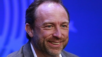 File photo. Jimmy Wales, founder of Wikipedia.org.