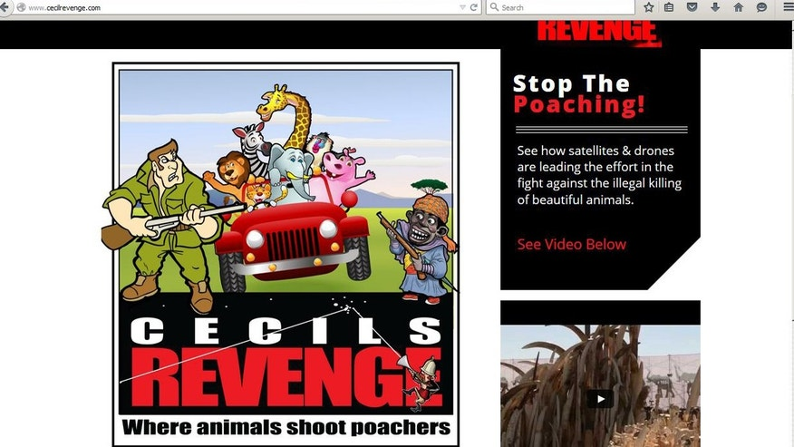 Screenshot from cecilrevenge.com