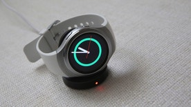 This Tuesday, Sept. 1, 2015, photo shows Samsungs Gear S2 smartwatch during a presentation in New York.