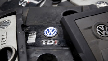 Covers for TDI diesel Volkswagen engines are seen in this illustration in second-hand car parts in Jelah, Bosnia and Herzegovina, Sept. 26, 2015.