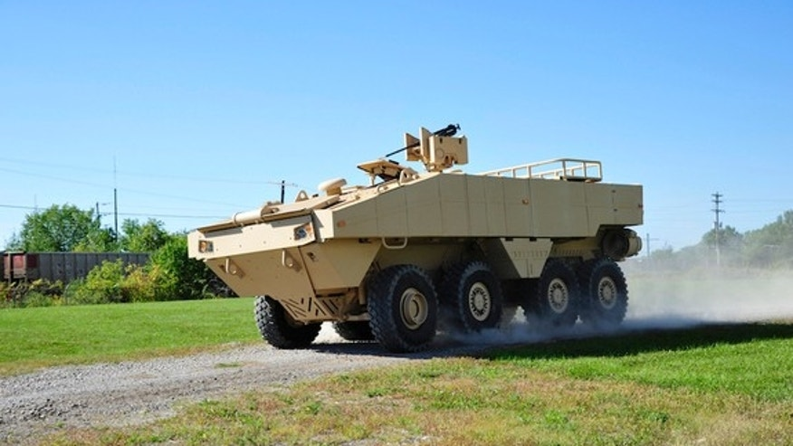 Lockheed Martin's new Amphibious Combat Vehicle (ACV) is just as comfortable on land as in water.