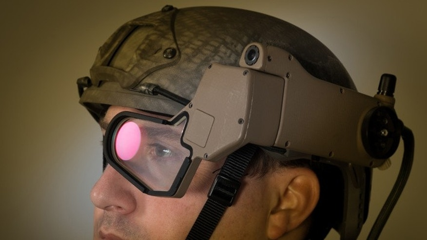 Q-Warrior Helmet Mounted Display (BAE Systems)