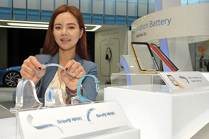 Samsung unveils new 'Stripe' batteries, representing a major breakthrough for mobile devices