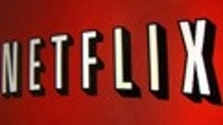 The Netflix logo is is shown on an ipad in Encinitas, California, April 19,2013.