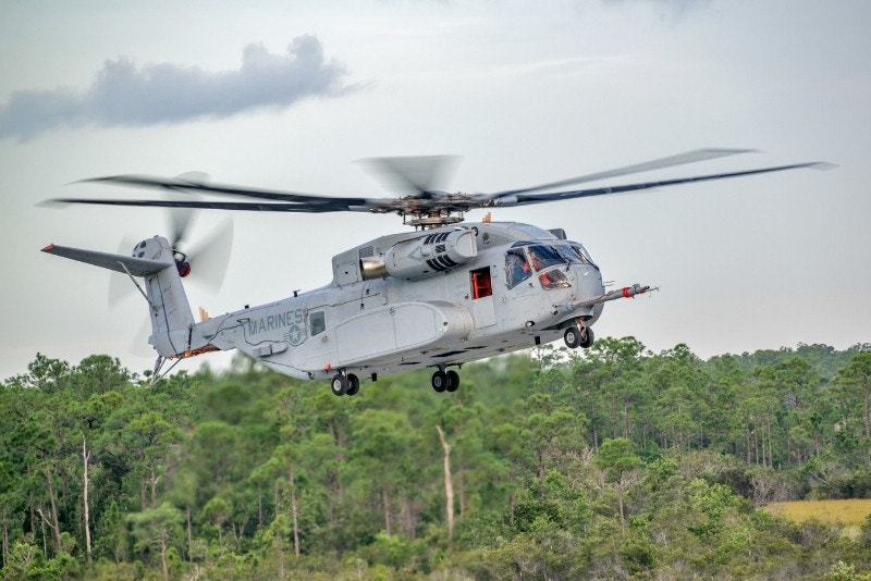 Marine Corps' new helicopter completes its first flight
