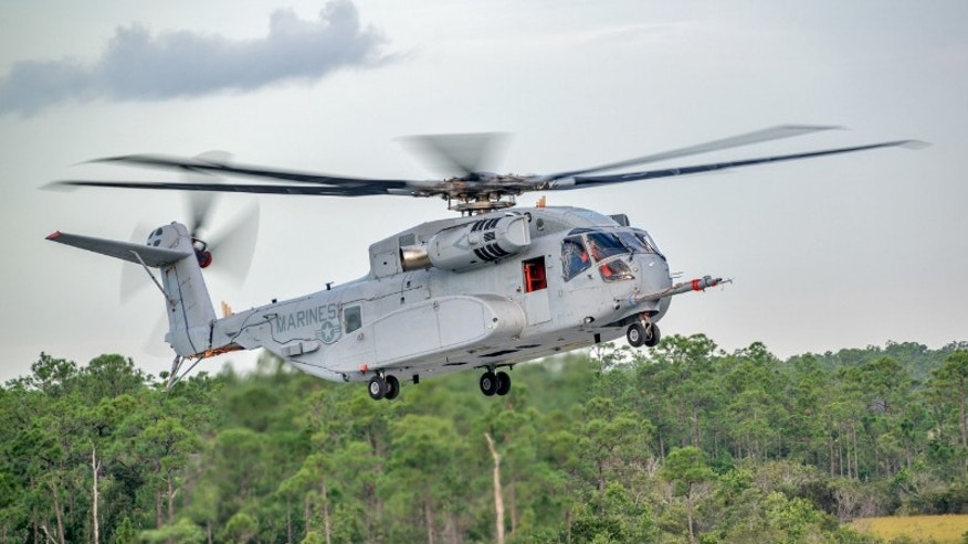 CH-53K King Stallion (Sikorsky Aircraft Corporation).