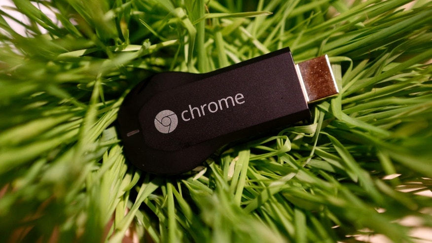 File photo - The Google Chromecast device is displayed during a Google event at Dogpatch Studio in San Francisco, Calif., July 24, 2013. (REUTERS/Beck Diefenbach)