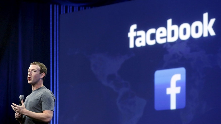 File photo - Facebook CEO Mark Zuckerberg speaks during his keynote address at Facebook F8 in San Francisco, California March 25, 2015.