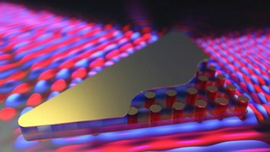 "In a new study, researchers were able to bend and ""squeeze"" light. This light-warping technology could drive the development of light-based microchips for quantum computers."
