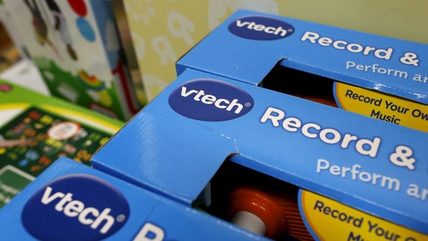 VTech's products are seen on display at a toy store in Hong Kong, China Nov. 30, 2015. (REUTERS/Tyrone Siu)