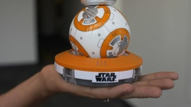 This Thursday, Sept. 3, 2015 photo shows Sphero's BB-8 droid toy in New York.