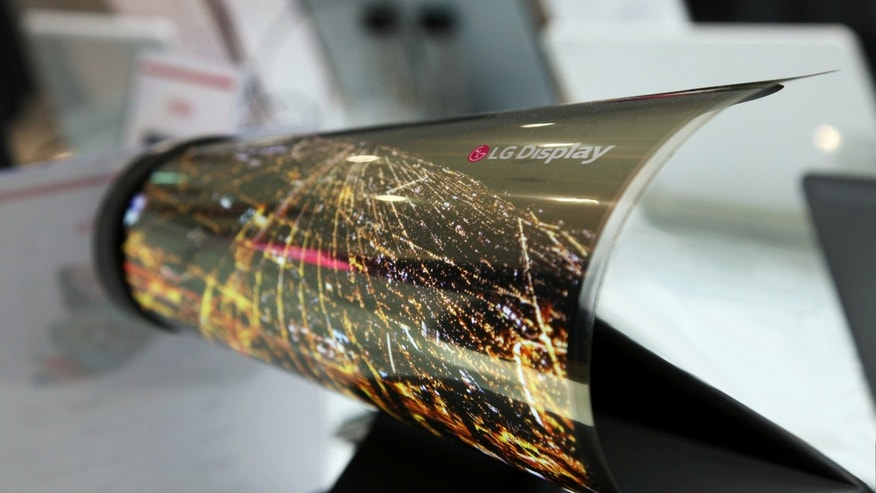 LG's foldable display (LG Display).