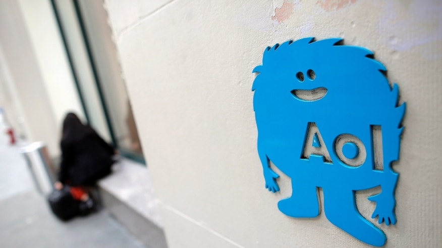 File photo - The AOL logo is seen at their office in New York November 5, 2013. (REUTERS/Andrew Kelly)