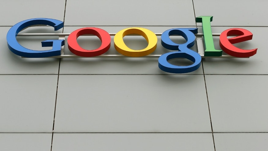 File photo - A logo is pictured at Google's European Engineering Center in Zurich April16, 2015.(REUTERS/Arnd Wiegmann)