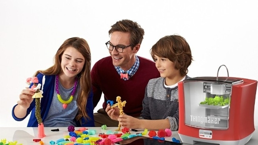 ThingMaker 3D Printer and ThingMaker Design App Eco-System (Mattel)