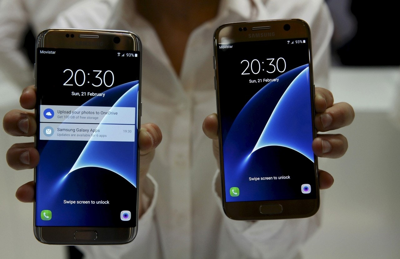 Samsung's Galaxy S7 gets bigger battery, roomier display, while LG innovates with G5