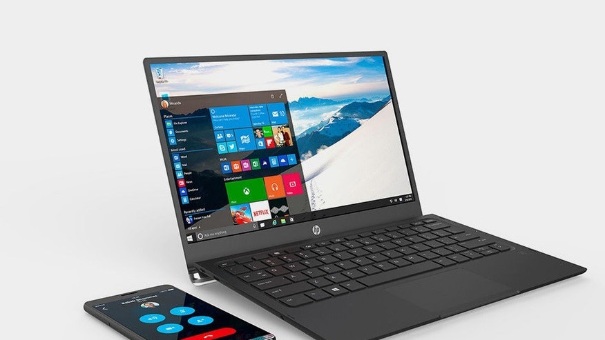 HP Elite X3 (left) (HP)