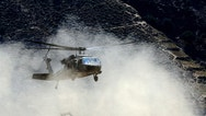 A U.S. Army Black Hawk helicopter lands at FOB Bostick in eastern Afghanistan's Naray district, Kunar province August 23, 2011.   REUTERS/Nikola Solic (AFGHANISTAN - Tags: MILITARY CONFLICT POLITICS) - RTR2Q844