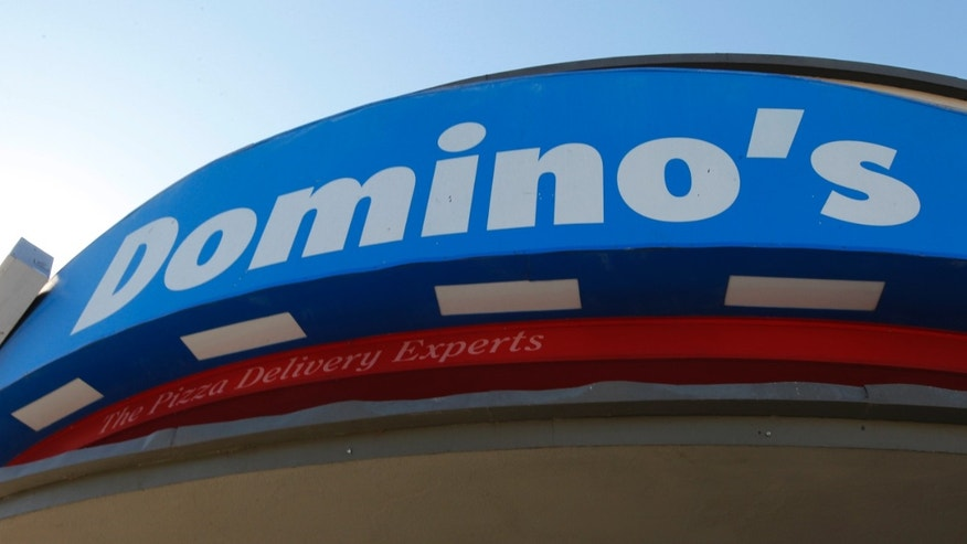 Oct. 16, 2012: Signage at a Domino's pizza restaurant is pictured in Burbank, California October 16, 2012. (REUTERS)