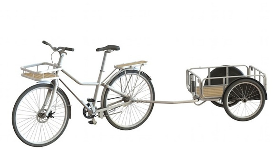The new Ikea bike relies on a rust-free belt instead of chain.
