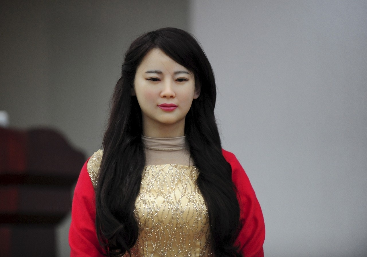 Researchers in China introduce Jia Jia, the 'robot goddess'