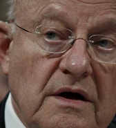 "U.S. Director of National Intelligence James Clapper testifies during a House Appropriations hearing on ""World Wide Threats"" on Capitol Hill in Washington February 25, 2016. REUTERS/Kevin Lamarque - RTX28K4T"