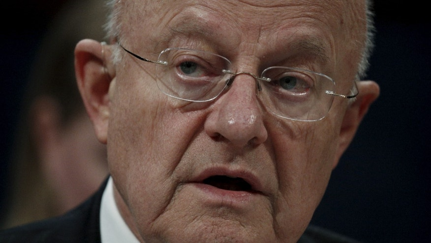 "U.S. Director of National Intelligence James Clapper testifies during a House Appropriations hearing on ""World Wide Threats"" on Capitol Hill in Washington February 25, 2016. (REUTERS/Kevin Lamarque)"