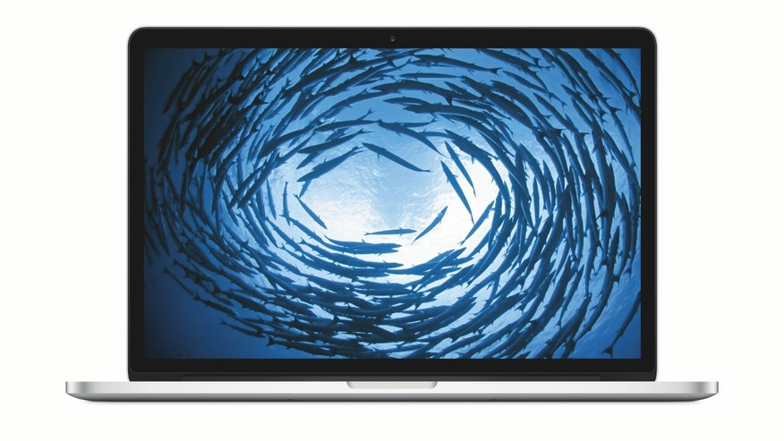Apple's 15-inch MacBook Pro with Force Touch Trackpad, introduced in 2015. (Apple)