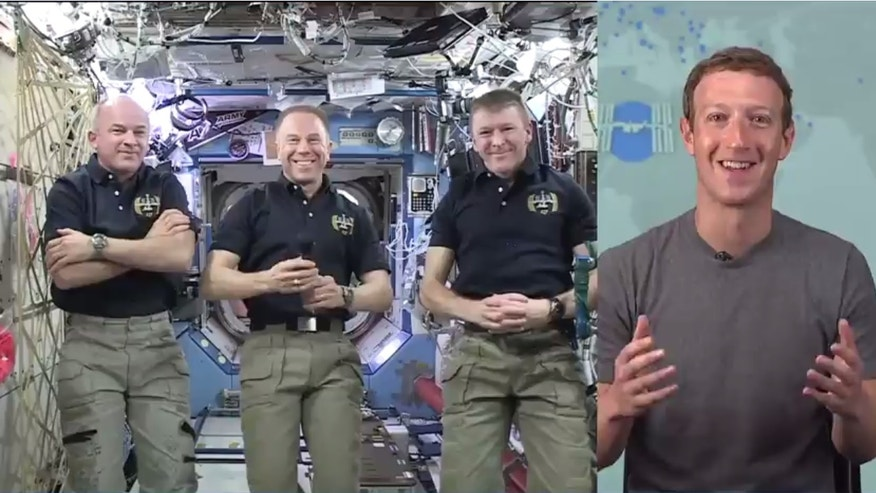 Astronauts Jeff Williams, Tim Kopra and Tim Peake talked with Mark Zuckerberg over Facebook Live on June 1.