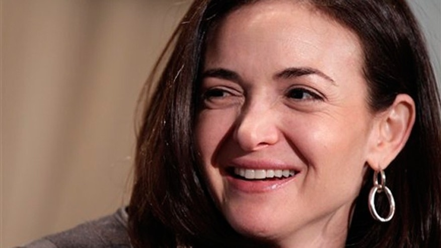 File photo: Sheryl Sandberg, COO of Facebook