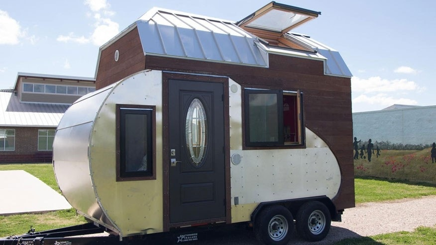 Trailer or tiny home? The Tiny Drop is the best of both for off-the-grid living