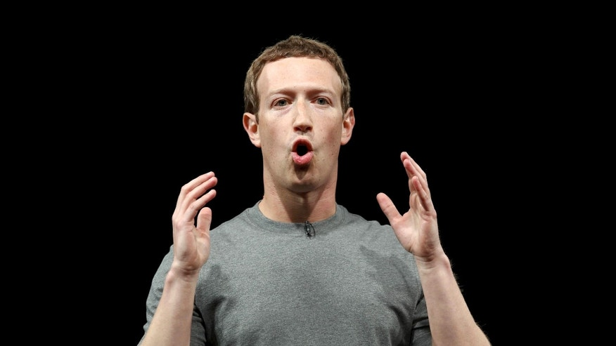 File photo - Mark Zuckerberg, co-founder of Facebook, speaks at the Mobile World Congress in Barcelona, Spain, February 21, 2016. (REUTERS/Albert Gea)