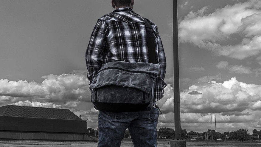 Grey Ghost Wanderer messenger bag (Grey Ghost).