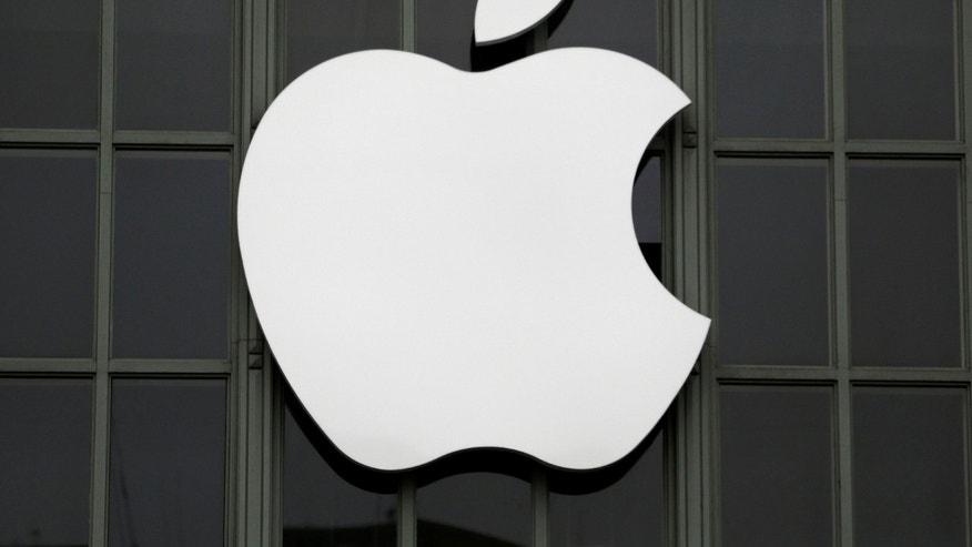 The Apple Inc. logo is shown outside the company's 2016 Worldwide Developers Conference in San Francisco, California, U.S. June 13, 2016.