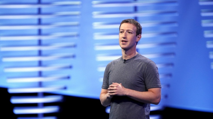 File photo - Facebook CEO Mark Zuckerberg speaks on stage during the Facebook F8 conference in San Francisco, California April 12, 2016. (REUTERS/Stephen Lam)